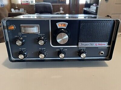Palomar 73C Am-Ssb CB Radio base station.  Rare radio. great condition.