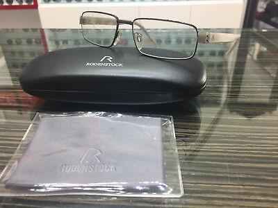 Brand New Rodenstock Authentic Eyeglasses Eyewear Rx R 4826 A Frame Germany Case