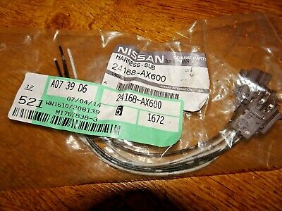GENUINE NISSAN MICRA K12 NOTE AIR BAG SUB HARNESS WIRING LOOM - 24168-AX600 -NEW