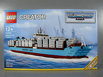 New in Box Sealed LEGO Creator Expert Maersk Triple E Cargo Ship Set #10241(1)
