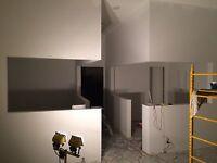 Drywall texture, skim coating, repairs