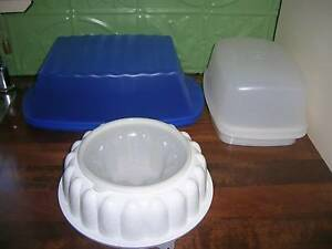 Tupperware Jelly Mould, Bread container, Roast Chicken container Toowoomba Toowoomba City Preview