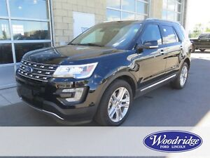 2017 Ford Explorer Limited 7 PASS, LEATHER, NAV, SUNROOF