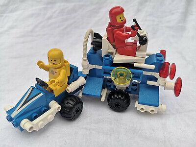 Lego Space Vintage: 6874-1 Moon rover (1986) 100% complete+Minifigures Retro