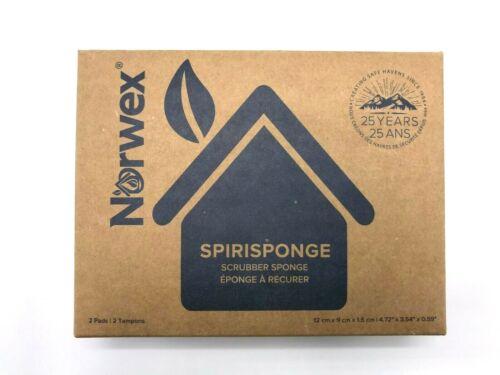 Norwex SpiriSponge, Scrubber Sponge, Pack of 2, New