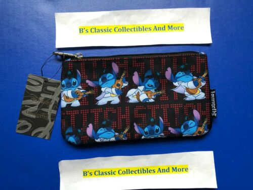 Loungefly Stitch Elvis Zip Pouch Cosmetic/Coin Bag/Case Disney Lilo & Stitch New