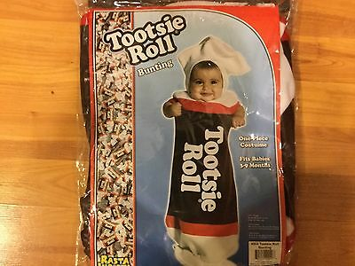 HB3 New Infant baby Tootsie Roll Rasta Imposta Halloween Costume 3 / 9 - Tootsie Roll Baby