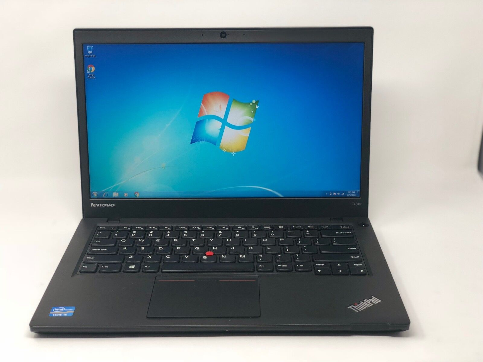 Lenovo ThinkPad T431s i5-3337u 1.8GHz 12GB 256GB SSD 1600x900 Wbcam BT W7 Laptop