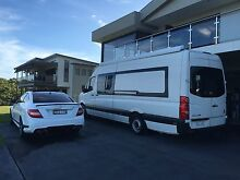 Motor home vw crafter/ Mercedes sprinter ELWB as new, bargain! Hallidays Point Greater Taree Area Preview