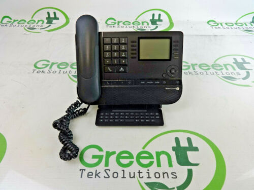 Alcatel-Lucent 8038 IP Business Office Phone w Handset & Stand
