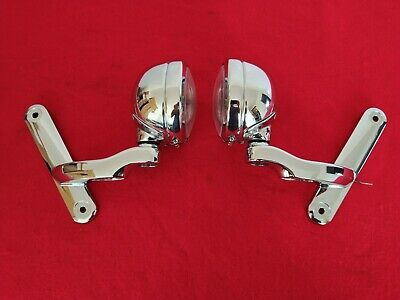 GENUINE 2019 HARLEY STREET GLIDE AUXILIARY PASSING LAMPS BRACKETS MOUNTS LIGHTS