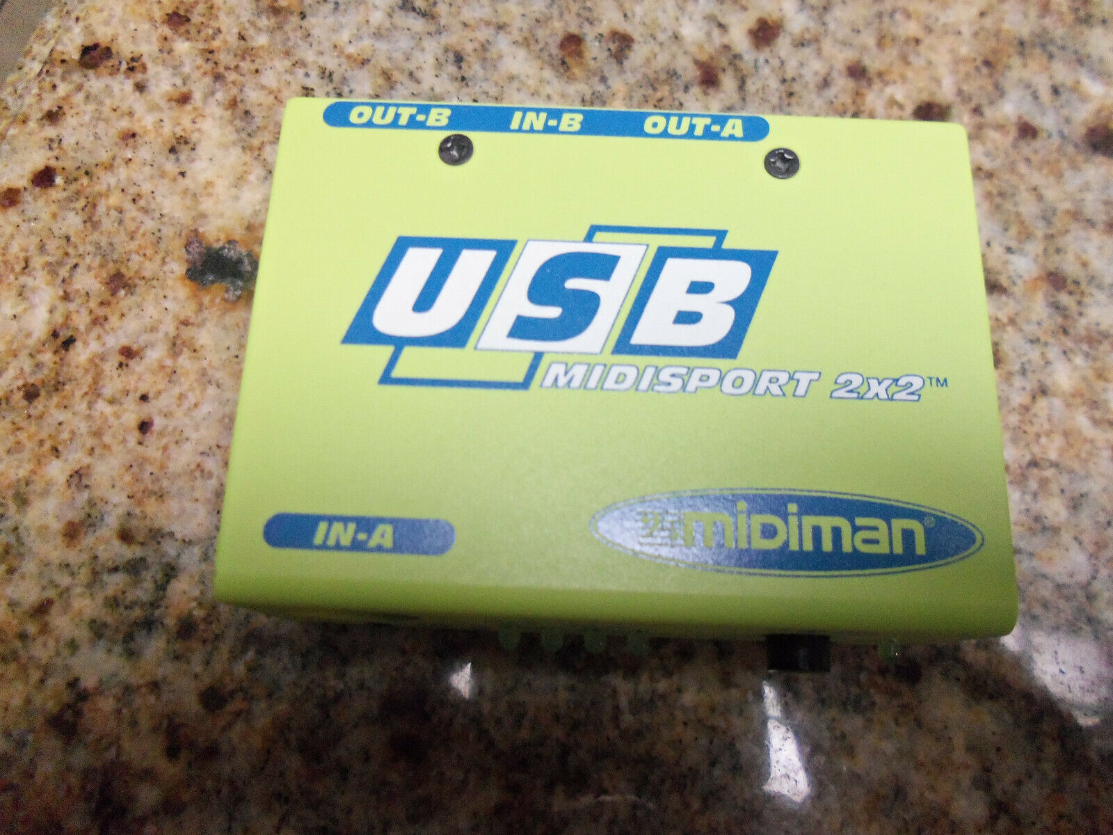 M-Audio Midiman Usb Midisport 2x2 Midi Interface - $14.99