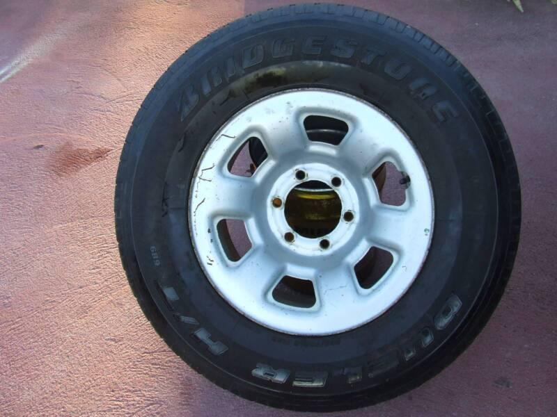 1 x GU 265/70 R16 TUBELESS TYRE and RIM | Wheels, Tyres & Rims ...