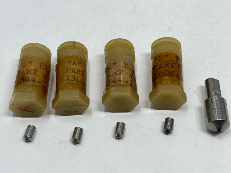 """Lot of (5) Rockwell Wilson Hardness Testers Penetrator / Indenter Brale """"N"""", """"A"""""""