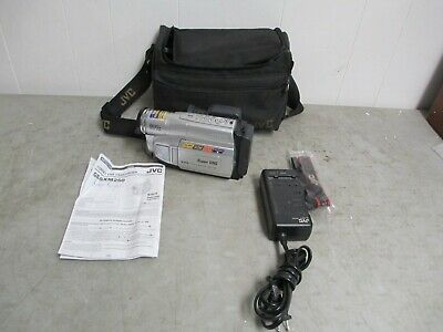 JVC Super VHS CAMCORDER 600x Digital Zoom Video Camera  GR-SXM250U