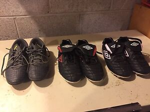 Kids soccer cleats $10 a pair