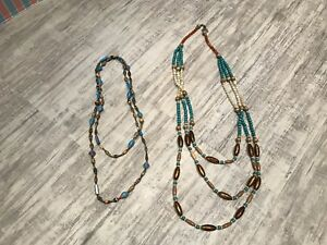 Assorted Long Beaded Necklaces