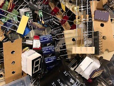 Back To School Lot 1 Lb Quality Grab Bag Electronic Parts Components Diy