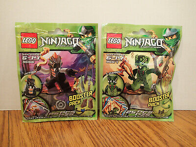NEW Lego Ninjago Booster Packs Aytar Lizaru 9556 9557 – Lot of 2