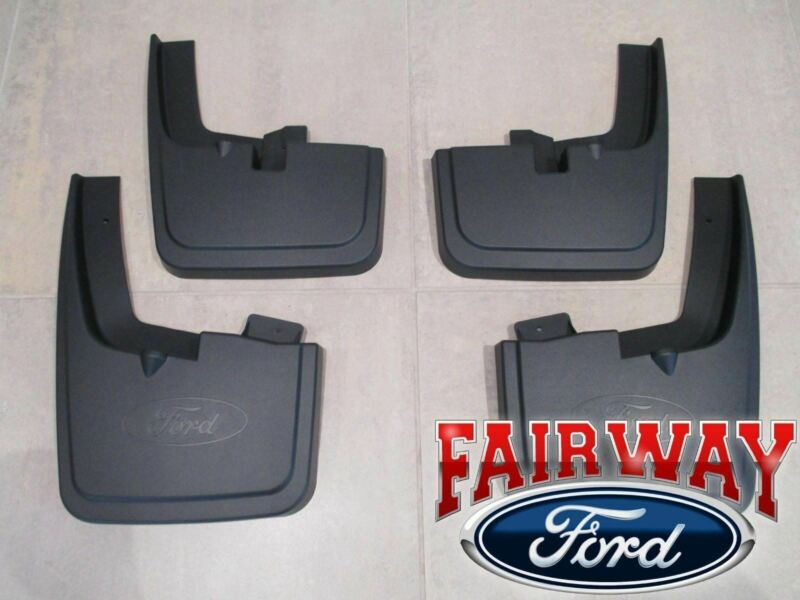For 2015-2018 Ford F150 WITHOUT Wheel Lip 4PC Front Rear Mud Flaps Splash Guards