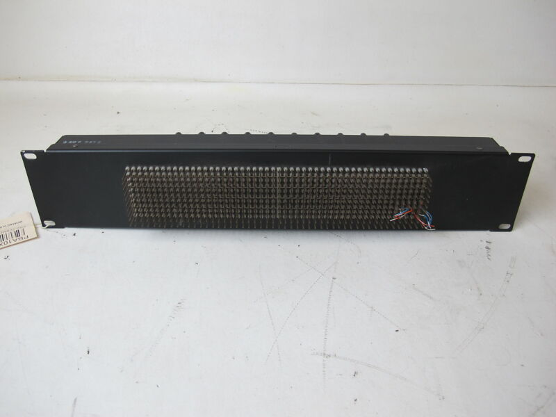 Wire Wrap Panel TO 10 25-Pair Amphenol Connectors Panel