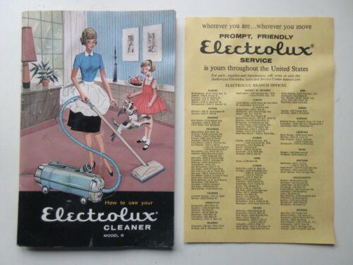 Vintage Model G Electrolux Vacuum Cleaner Owner