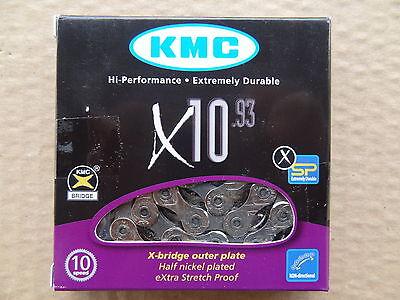 KMC X10.93 / X-10-93 Kette, 10-fach, 114 Glieder, inkl. Missing-Link, OVP, NEU