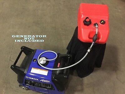 Yamaha Ef3000iseb Generator 6.5 Gal Extended Run Marine Fuel System New