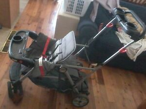 Baby Trend double sit and stand stroller Cambridge Kitchener Area image 4