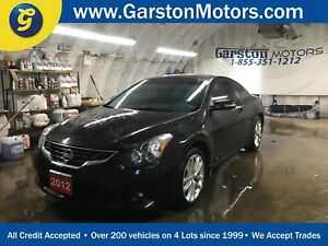 2012 Nissan Altima 3.5 SR*LEATHER*POWER SUNROOF*ALLOYS*FOG LIGHT