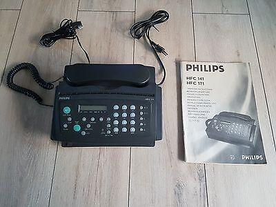 Faxgerät Philips HFC 171 Kompaktgerät Thermo Fax AB Kopierfunktion + Anleitung