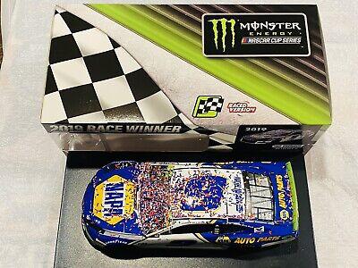 CHASE ELLIOTT HAND SIGNED 2019 NAPA ROVAL RACE WIN NASCAR 1/24 CAR!!!!!