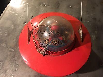 Vintage Sci Fi Tin Space Ship Japan UFO