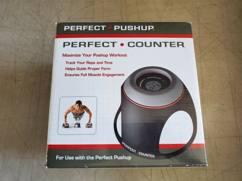 NIB PERFECT PUSHUP PERFECT COUNTER MAXIMIZE YOUR PUSHUP WORKOUT