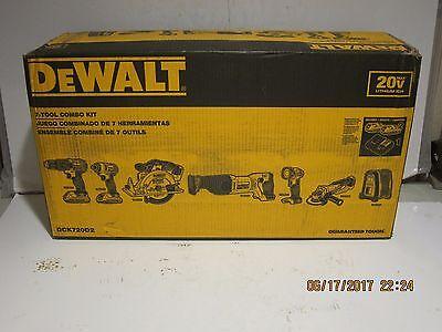 DEWALT DCK720D2 20-Volt MAX Lithium Ion Cordless Combo Kit (7-Tool)NEW SEALED