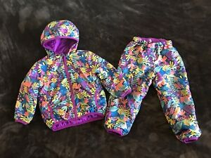 Girl's 2T MEC Cocoon Fall/Spring Jacket & Pants