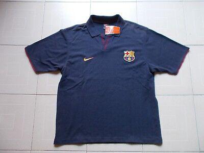 new photos 8fe67 216be FC BARCELONA Nike CAMISETA MEN S POLO SHIRT IT 56 58, XL, GB 45