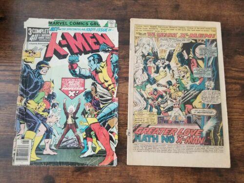 Uncanny X-Men #100, GD- 1.8, Wolverine, Storm, Nightcrawler, Colossus