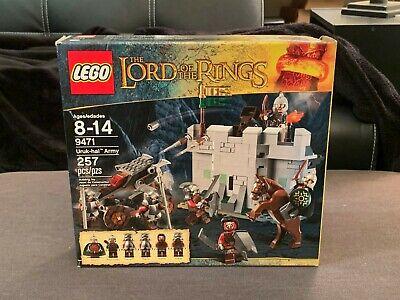LEGO 9471 Lord of the Rings Uruk-hai Army NIB - BRAND NEW & SEALED (Retired)