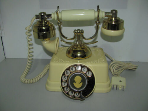 Vintage Antique Style Rotary Telephone 1970s Tested & Working Selling As Shown