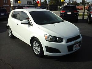 2014 CHEVROLET SONIC LT - REAR VIEW CAMERA, ONSTAR, REMOTE START