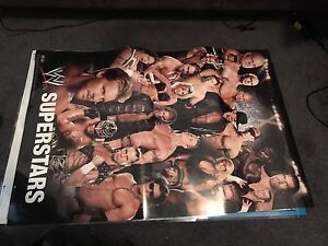 2x Laminated WWE Posters Redcliffe Belmont Area Preview