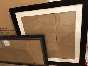 X2 LARGE GLASS PICTURE FRAMES plus NEW ART/CRAFT/NOVELTY items