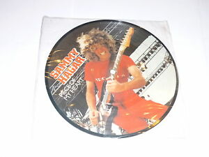 SAMMY-HAGAR-Piece-Of-My-Heart-1981-UK-limited-edition-vinyl-7-Picture-Disc