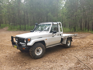 75 series Landcruiser Ute 4.2 1hz swaps Tuncurry Great Lakes Area Preview
