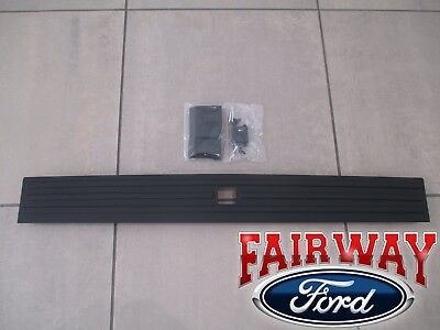 15 thru 18 F-150 OEM Ford Tailgate Flexible Step Trim Molding w/ Release Button