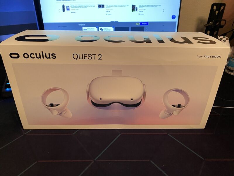 Oculus Quest 2 64GB VR Headset - White