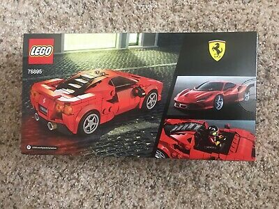 LEGO SPEED CHAMPIONS # 76895 FERRARI F8 TRIBUTO