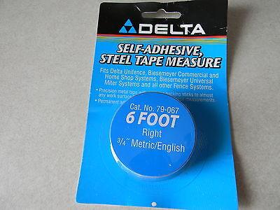 Deltabiesemeyer 79-067 6 Rh Tape 34 Menglish Markings 11-1