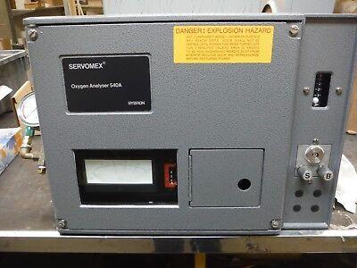 Servomex Oxygen Analyser 540a 540am11621-1